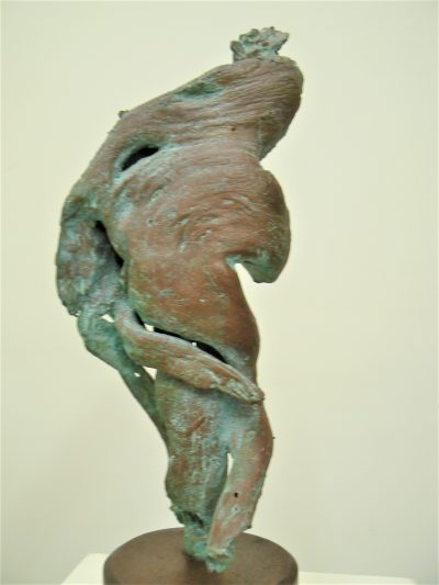 Smiling Dancing Lady, petina bronze
