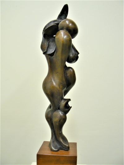Struggle to Adore, cast bronze. Abstract sculpture for sale