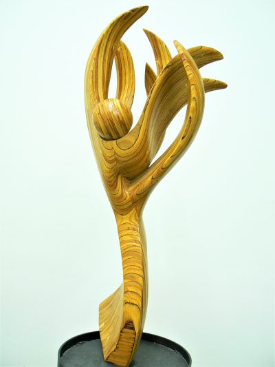 Dancing Nike Abstract sculpture for sale