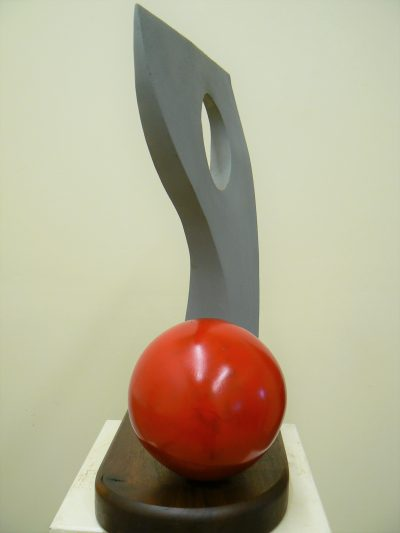 Head and Sphere. Sculpture for sale