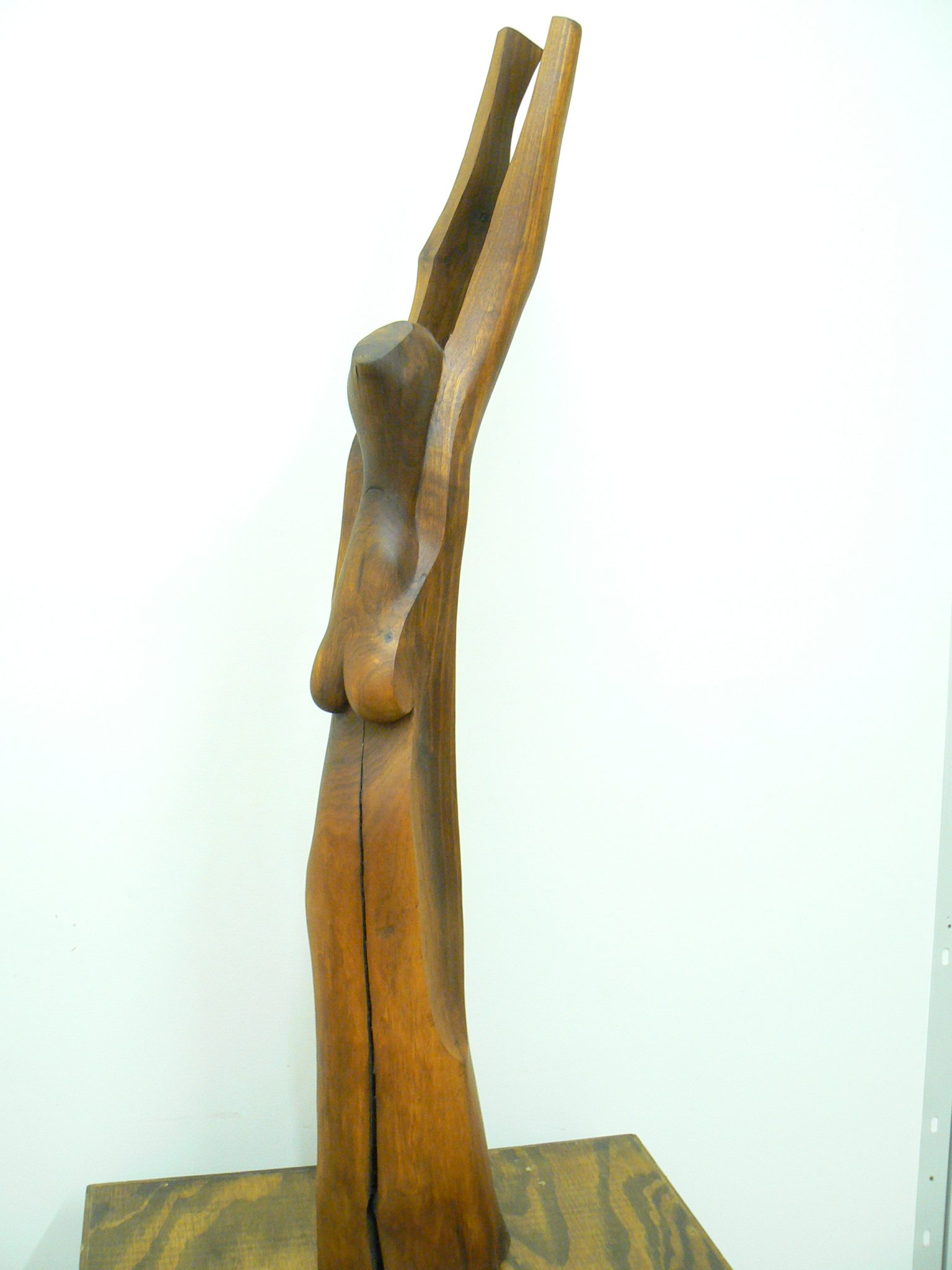 Woman with Slit Skirt. Sculpture for sale