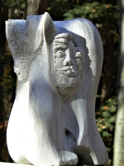 Maddona with Child and Demons Abstract sculpture for sale
